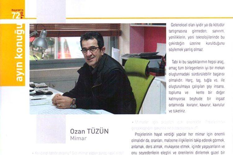 Başaran Dergisi – Ozan Tüzün Röportajı