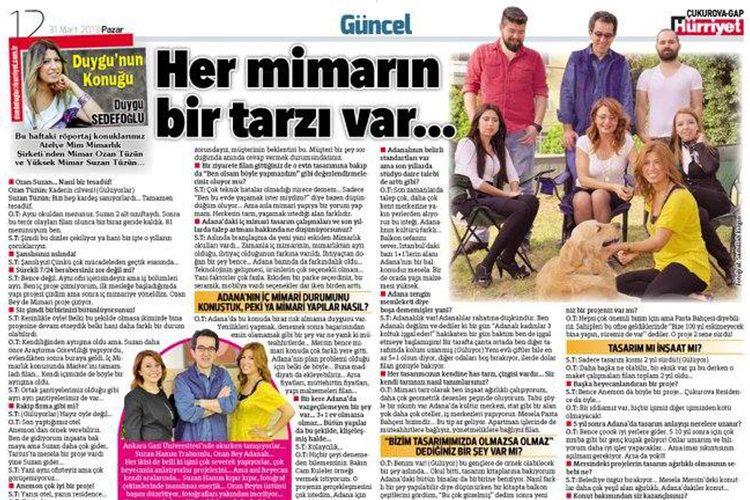 Hürriyet Gazetesi Röportajı