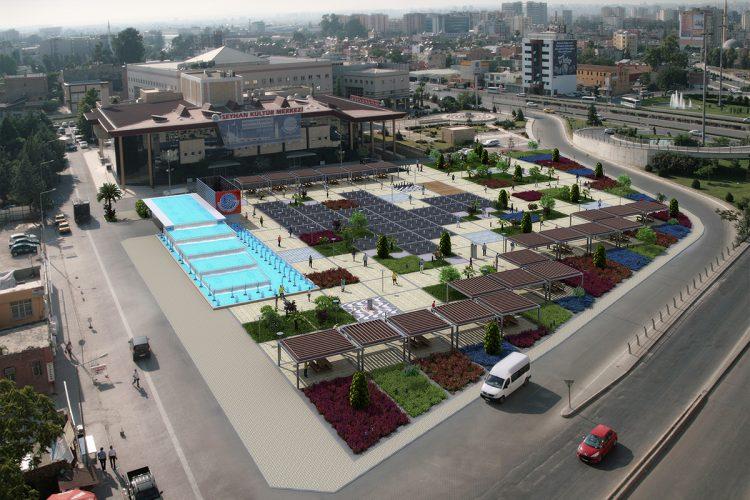 Seyhan Belediyesi Meydanı ve Kapalı Otoparkı